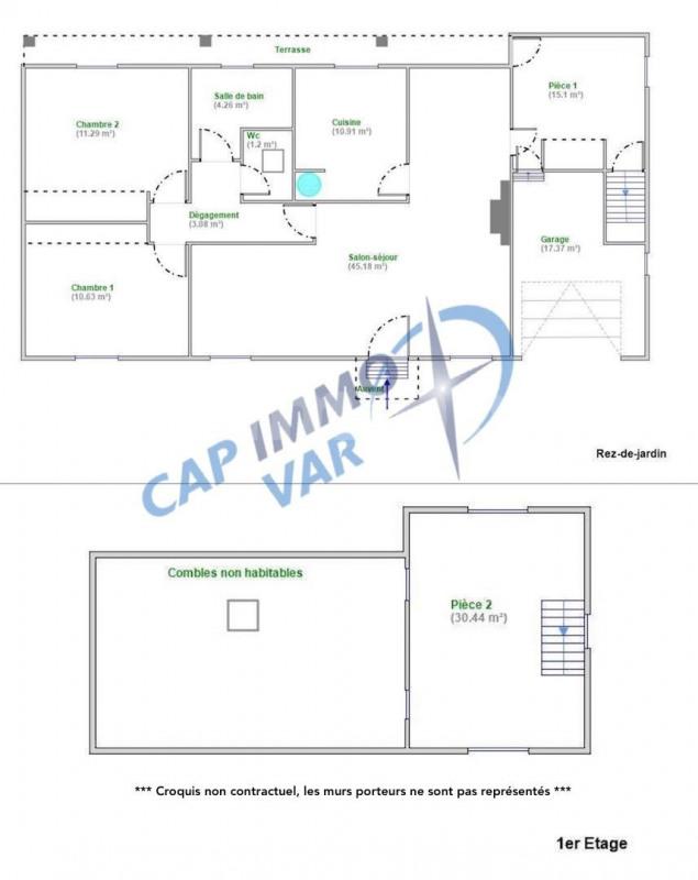 Sale house / villa Le beausset 369000€ - Picture 9