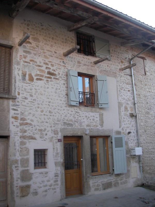 Location maison / villa Saint jean le vieux 442€ CC - Photo 1