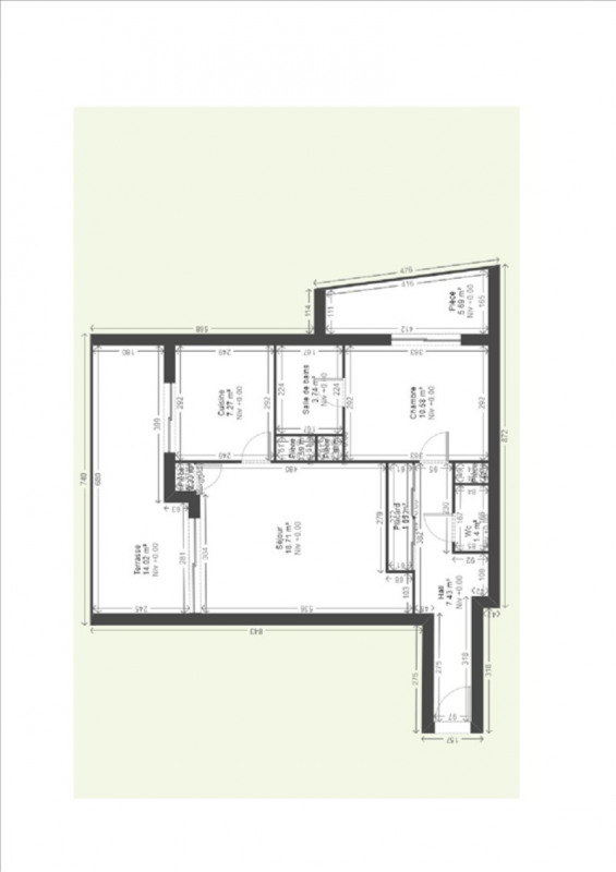 Sale apartment Grenoble 131250€ - Picture 8
