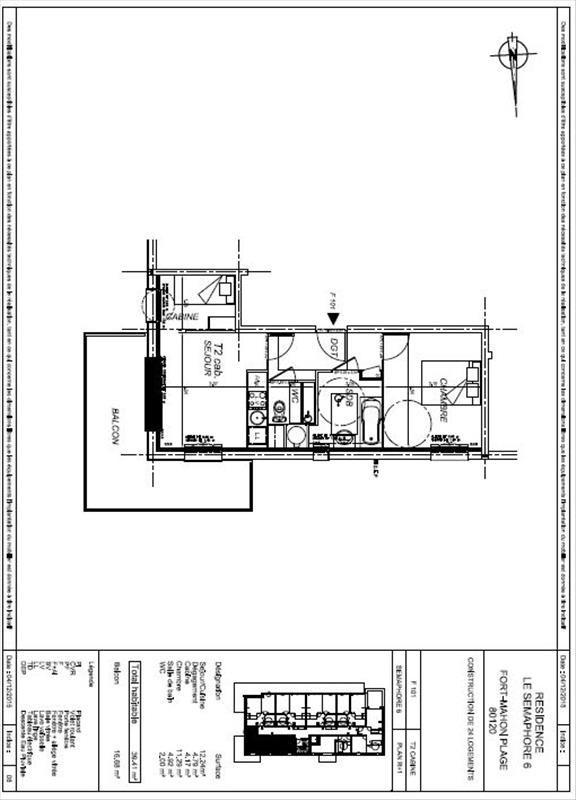Vente appartement Fort mahon plage 153000€ - Photo 4