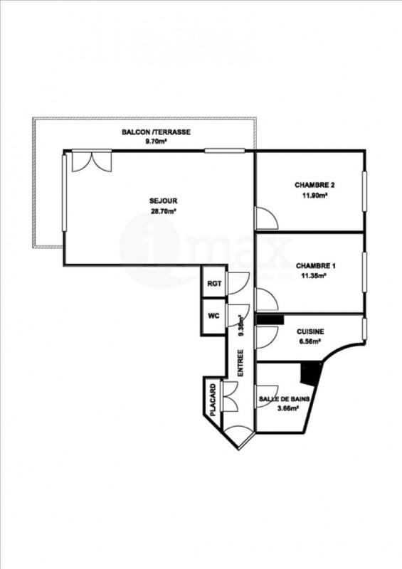 Sale apartment Neuilly sur seine 820000€ - Picture 6