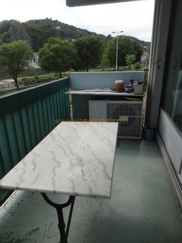 Life annuity apartment Alès 30000€ - Picture 5
