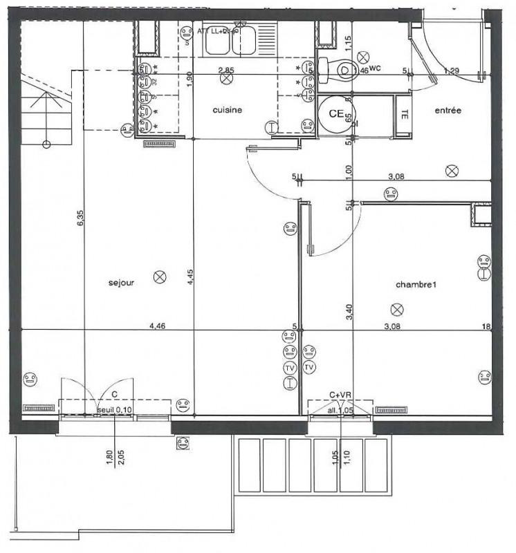 Location appartement Etampes 817€ CC - Photo 6