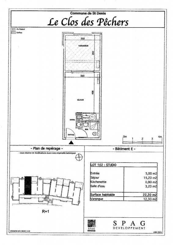 Location appartement Ste clotilde 392€ CC - Photo 7