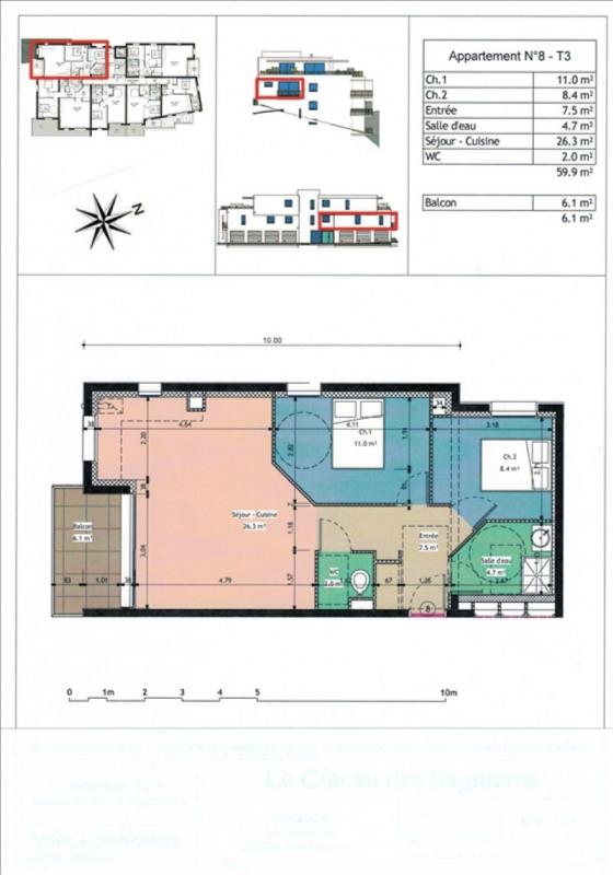 Vente appartement Gap 185000€ - Photo 2
