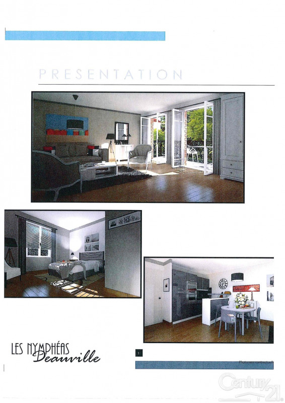 Venta  apartamento Deauville 481975€ - Fotografía 3