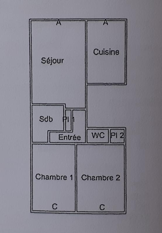 Vente appartement Niort 89000€ - Photo 7