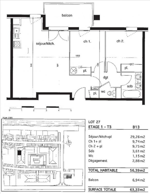 Vente appartement Montauban 86000€ - Photo 1