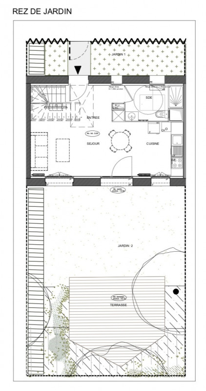 Sale house / villa Andrésy 353000€ - Picture 1