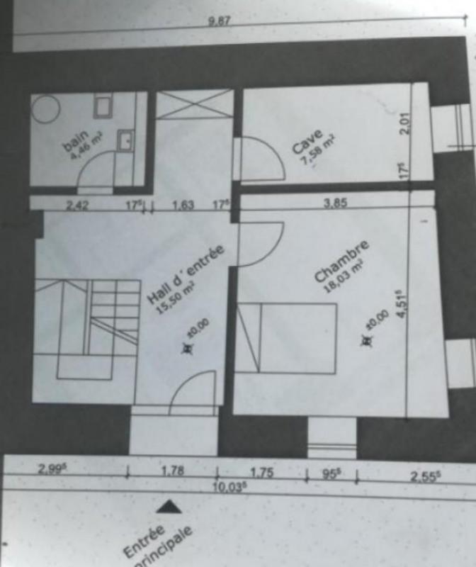 Vente maison / villa Presailles 60000€ - Photo 4