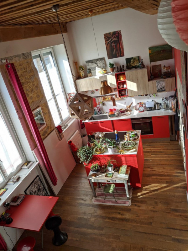 Verkoop  appartement Lyon 4ème 319000€ - Foto 1