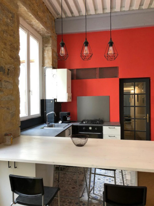 Venta  apartamento Lyon 1er 398000€ - Fotografía 1