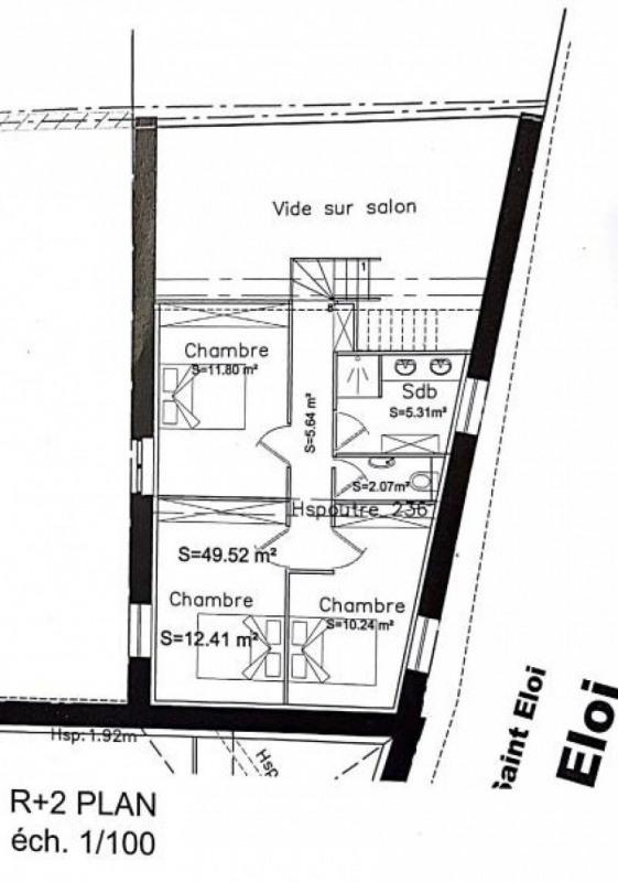 Sale apartment Liergues 147000€ - Picture 7