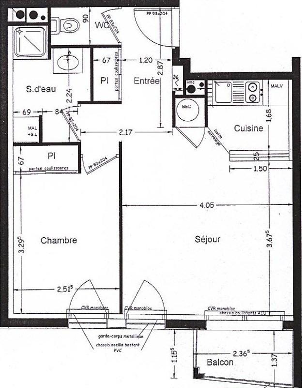 Location appartement Couëron 527€ CC - Photo 5