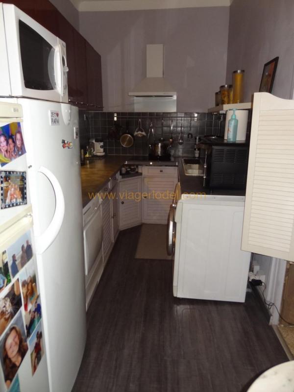 Verkauf auf rentenbasis mietshaus Poussan 76000€ - Fotografie 5