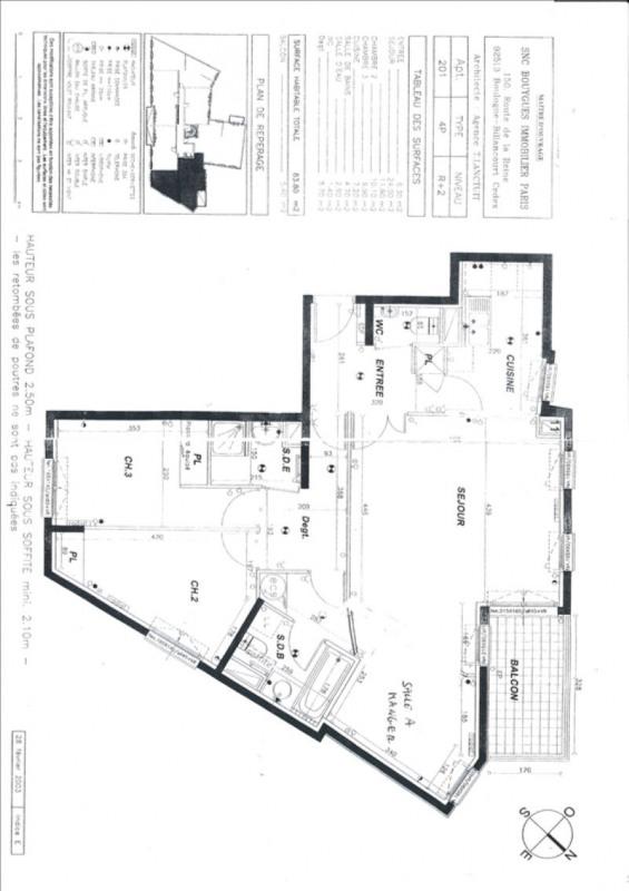Deluxe sale apartment Paris 18ème 965000€ - Picture 2