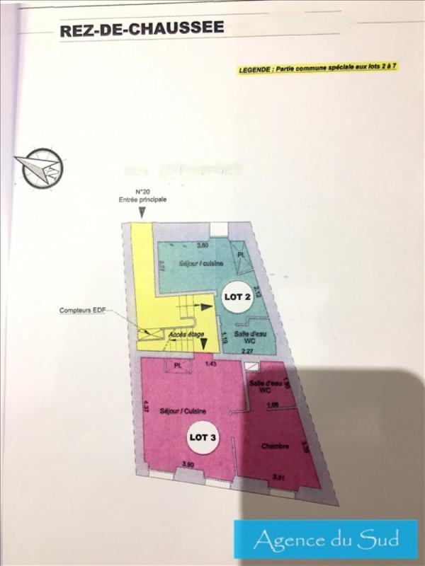 Produit d'investissement appartement Aubagne 80000€ - Photo 1