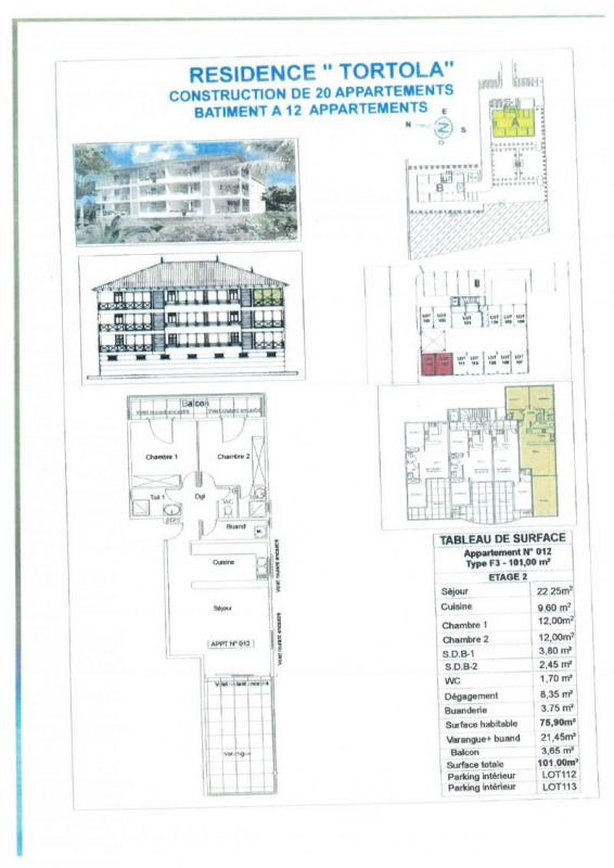 Vente appartement Fort de france 270000€ - Photo 3
