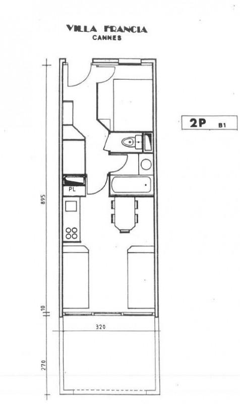 Sale apartment Cannes 175000€ - Picture 9