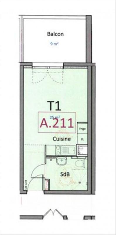 Investment property apartment Bormes les mimosas 183000€ - Picture 2