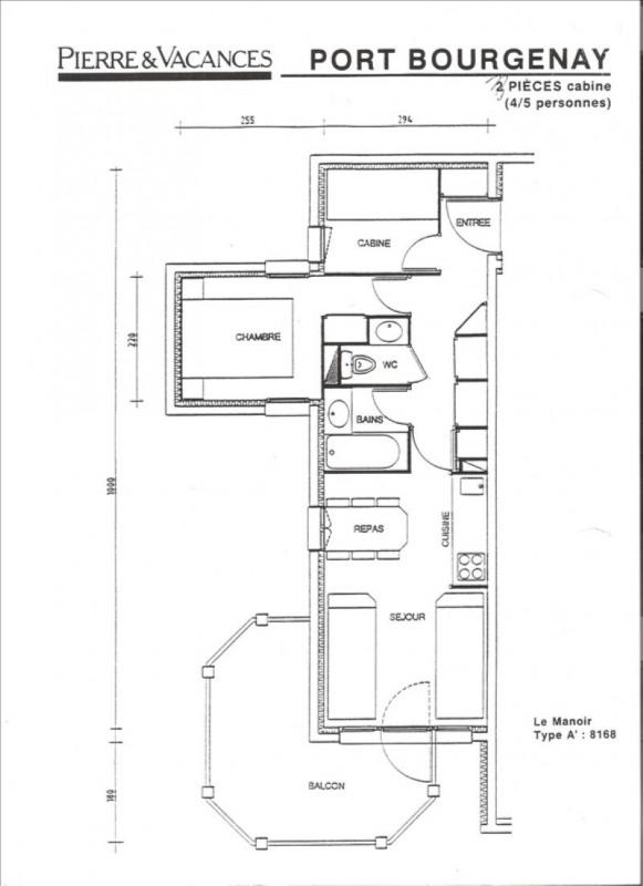 Vente appartement Talmont st hilaire 91800€ - Photo 2