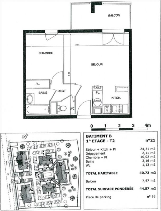Vente appartement Castelnau d'estretefonds 77000€ - Photo 2