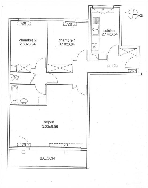 Sale apartment Villejuif 335000€ - Picture 10