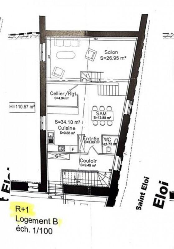 Sale apartment Liergues 147000€ - Picture 6