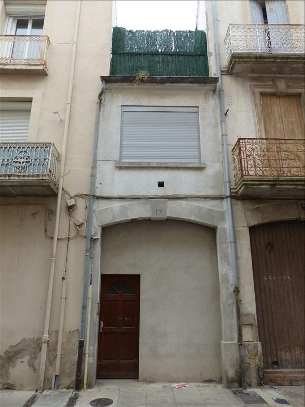 Venta  edificio Beziers 91000€ - Fotografía 1