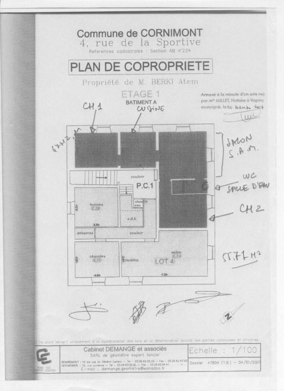 Vente appartement Cornimont 31500€ - Photo 2