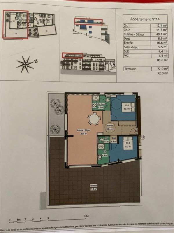 Vente appartement Gap 370000€ - Photo 2