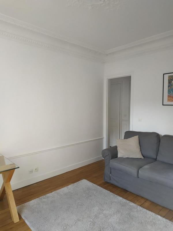 Rental apartment Paris 17ème 1500€ CC - Picture 2