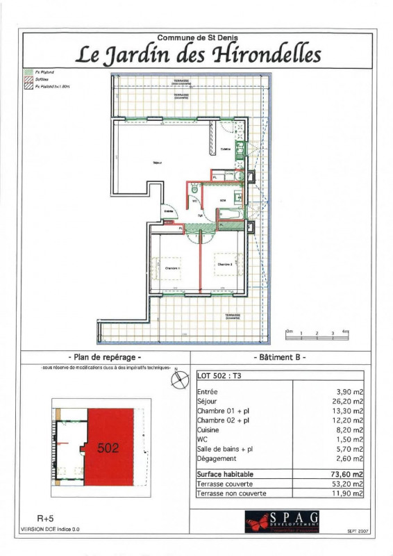 Location appartement Ste clotilde 910€ CC - Photo 6