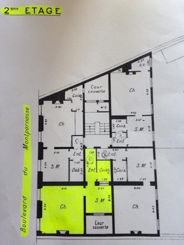 Produit d'investissement appartement Paris 6ème 430000€ - Photo 15