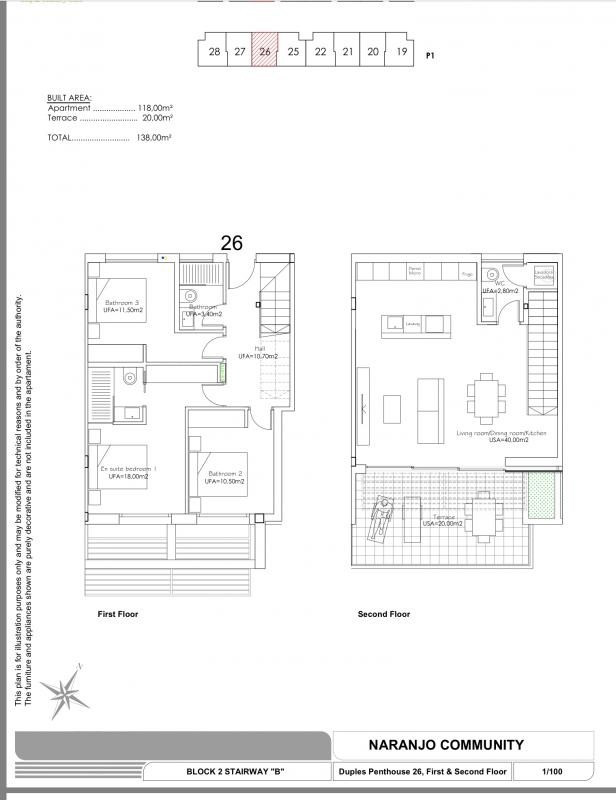 Deluxe sale apartment Las colinas golf orihuela 356000€ - Picture 13