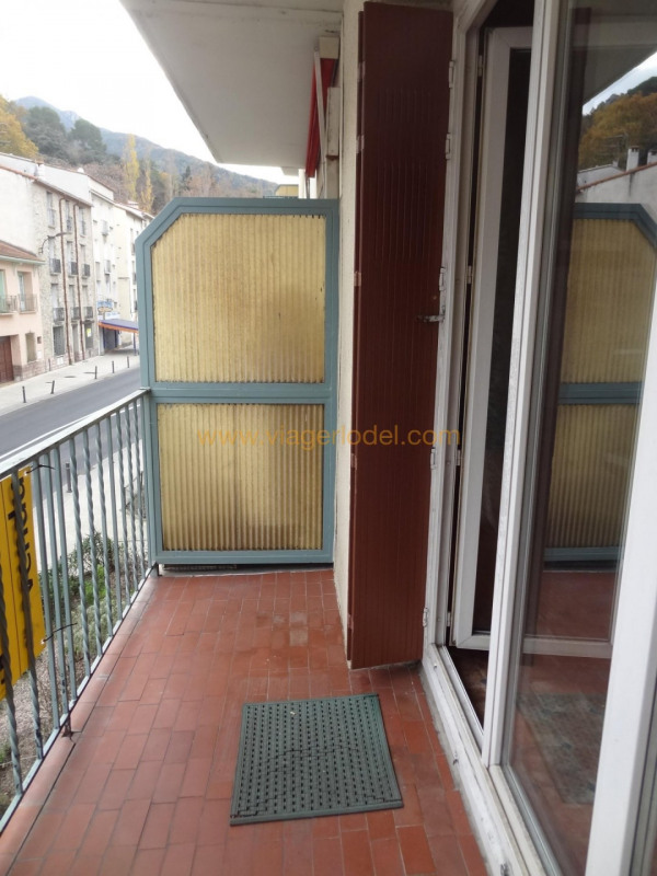 Verkauf auf rentenbasis wohnung Amélie-les-bains-palalda 33000€ - Fotografie 4