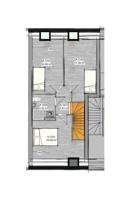 Sale apartment Bouffémont 269000€ - Picture 4