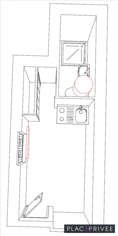 Rental apartment Nancy 295€ CC - Picture 2
