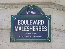 Belle boutique Malesherbes