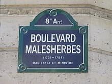 Boulevard Malesherbes