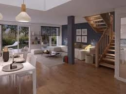 Maison 3 pièces avec, 3 Terrasses, 2 Jardins et 2 Parkings