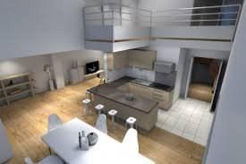 Très beau loft transformable en duplex