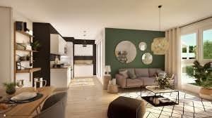 Appartement 3 pièces avec 1balcon et 1 parking