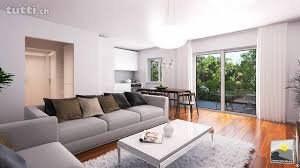 Bel appartement de 2 pièces avec jardin