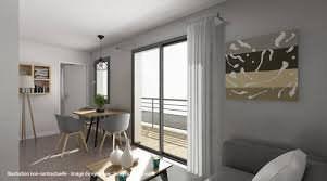 Joli 2 pièces au 3ème etage avec balcon