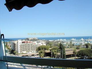 Life annuity apartment Antibes 93 000€ - Picture 1