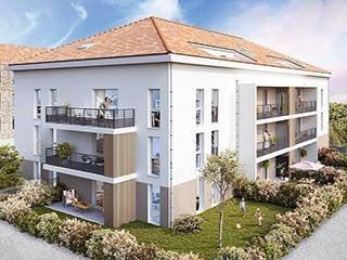 Appartement T4 au 3ème et dernier étage à Bourgoin (38300)