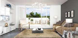 Bel appartement de 4 pièces balcon