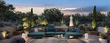 Appartement 5 pièces toit terrasse