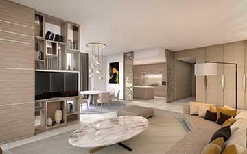 Vente de prestige appartement Paris 15ème 1460000€ - Photo 1
